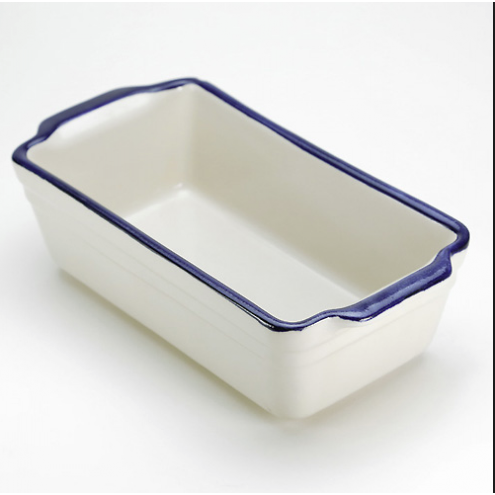 Bakeware Stoneware Bread Loaf 0.5x5.25 Inches