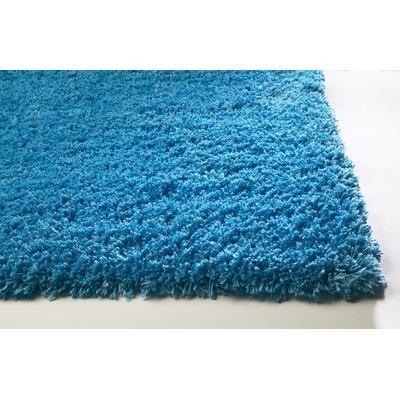 Bliss 3ft3in X 5ft3in Highlighter Blue Rug