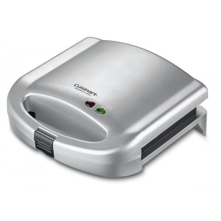 Electric Tabletop Grill Sandwich Brushed Chrome