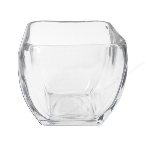 Candle Holder Tapered Square Large 4.3in