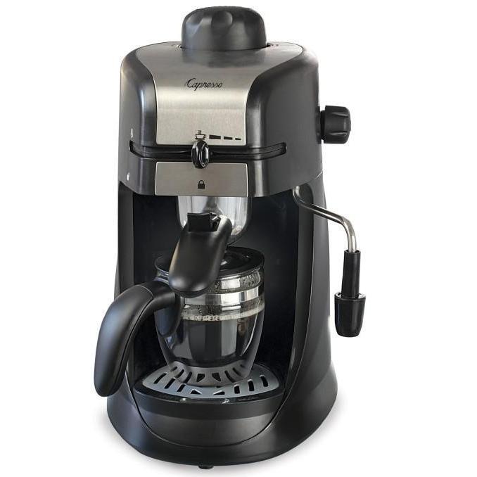 Electric Espresso Maker 4-cup Espresso & Cappuccino