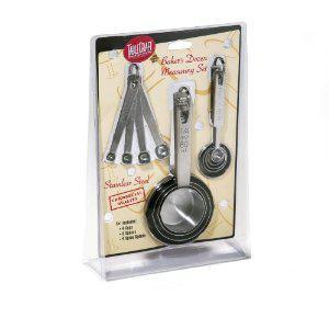 Kitchen Measuring Set Cup & Spoon Combo 3 Sets