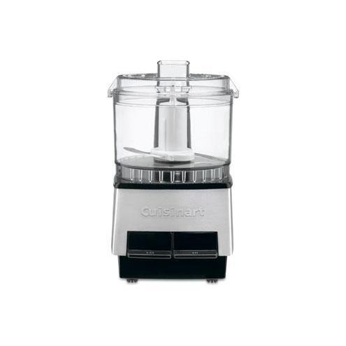 Electric Food Chopper Processor Mini Brushed Chrome
