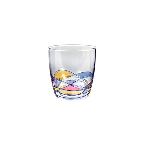 Drinkware Glass Helios Stained-Glass Tumbler 10oz Dof