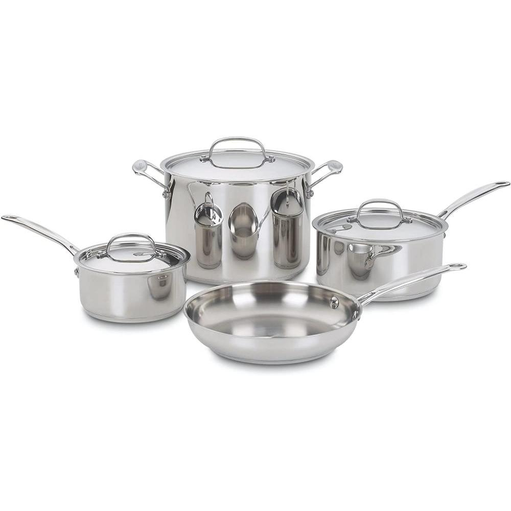 Cookware Chefs Classic Set Stainless 7-piece