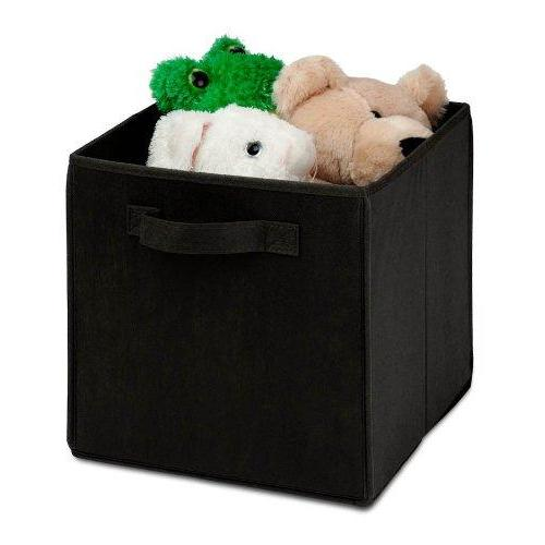Storage - Large Foldable Storage Cube In Black