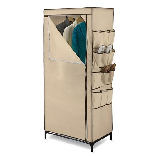 Shelving - Closet - 27 Inch Covered With Shoe Organizer