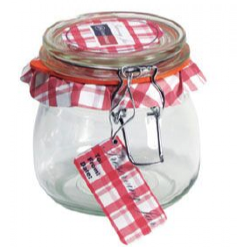 Glass Jar Wire-clasp Bail & Trigger 017oz 1/2liter
