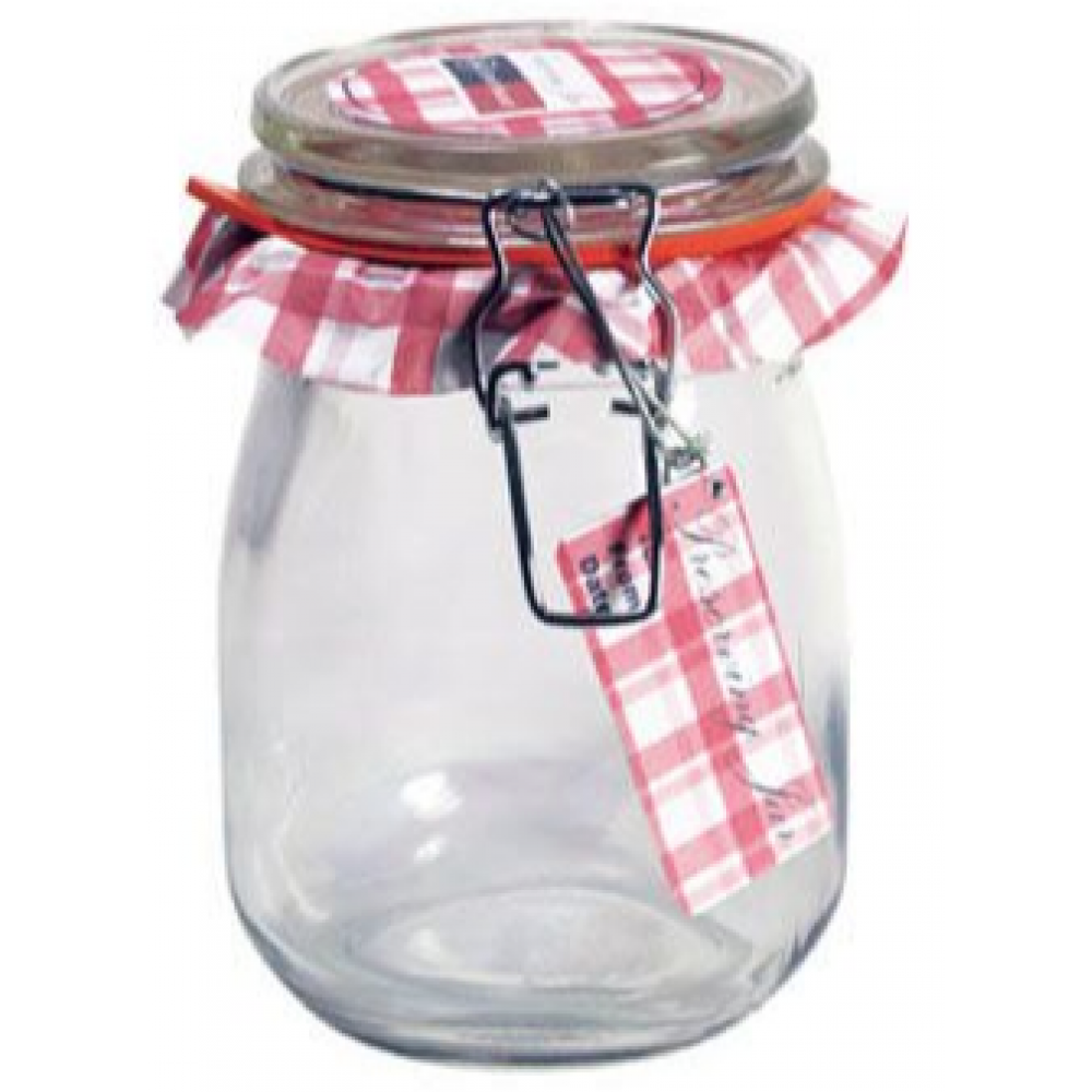 Glass Jar Wire-clasp Bail & Trigger 034oz 1l