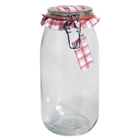 Glass Jar Wire-clasp Bail & Trigger 068oz 2liter