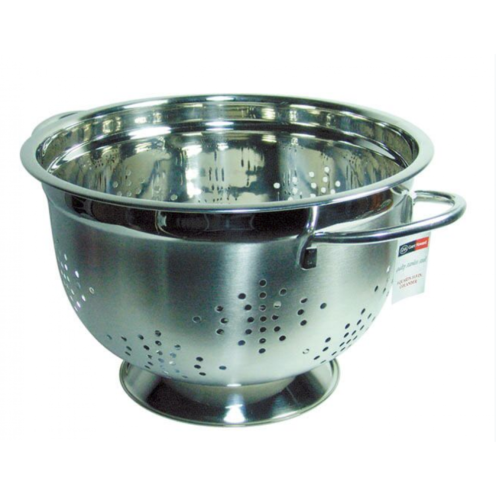 Colander Strainer Stainless Steelelegant Large 10in