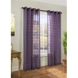 Encore Grommet Panel 52x84 Purple