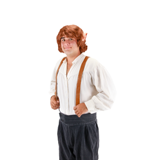 Costume - The Hobbit - Bilbo Wig With Ears