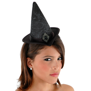 Accessory - Hat - Cocktail Witch Hat