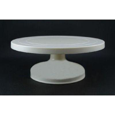 Pastry Decorating Pedestal Turntable Plastic 12x5in