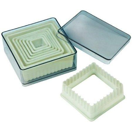 Pastry Cookie Cutter Nylon Square 9 Piece Set