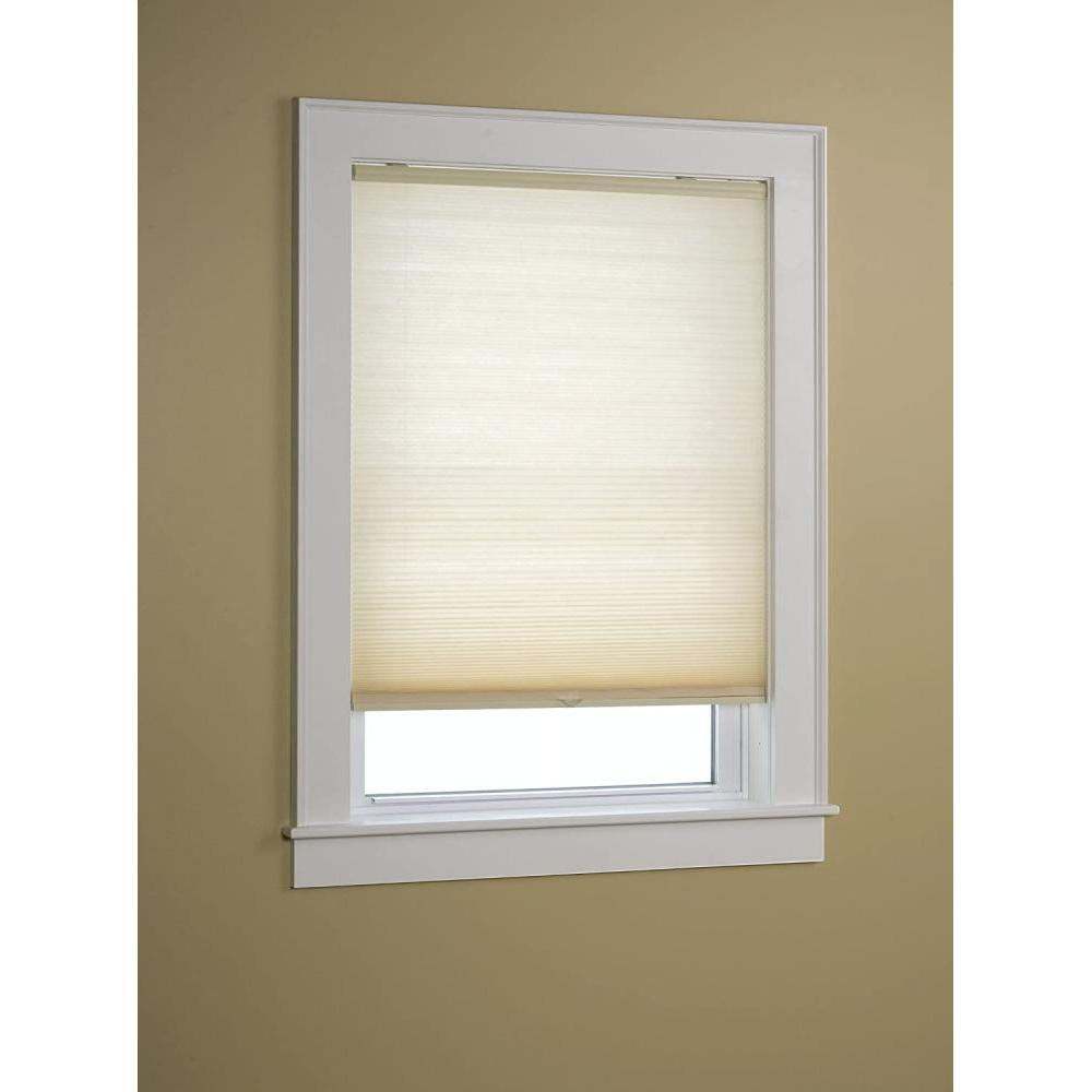 Honeycomb Shade Cordless Light Filtering Natural 25in X 64in