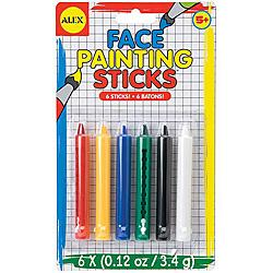 Face Painting Sticks 6 Colors!