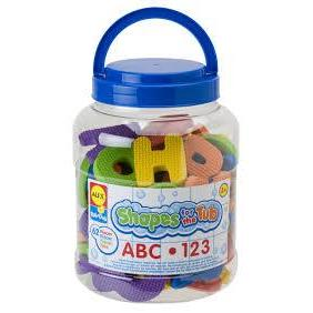 Shapes For The Tub Abc & 123