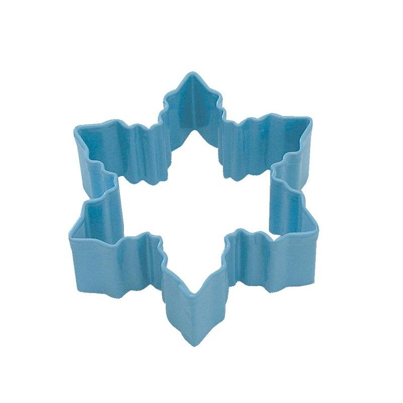 Cookie Cutter Seasonal Holiday Poly-coat Snowflake 3inch Blue