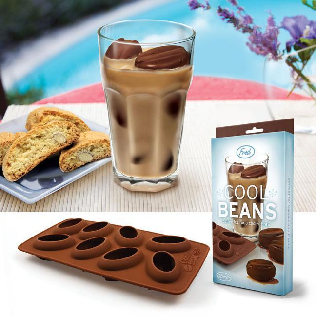 Ice Mold Tray Shape-Coffee Bean Cool Beans