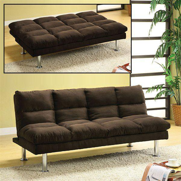 Saratoga Futon Sofa Espresso Available As A Special Order