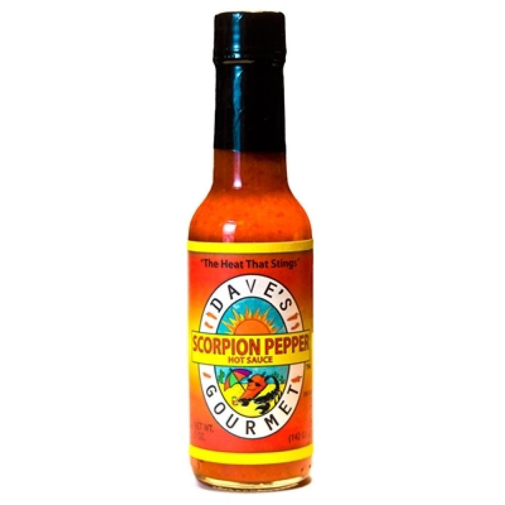 Barbecue Hot Sauce Daves Scorpian Pepper