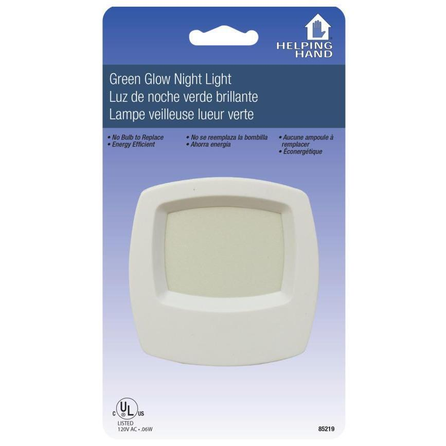 Lighting - Green Glow Night Light