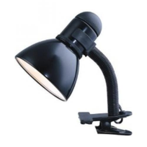 Desk Lamp Clamp On Gooseneck Black