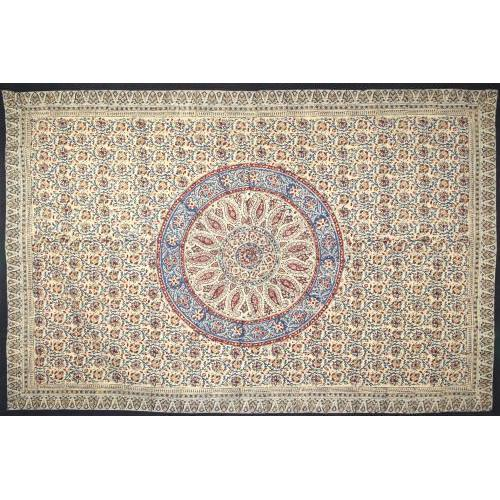 Circle Kalamkari Tablecloth 60x90