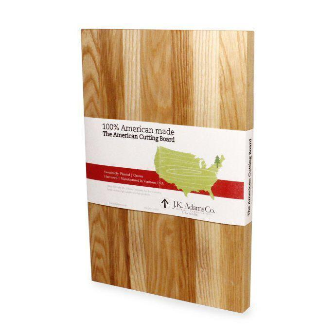 Cutting Board American  17in X 14in X 3/4in