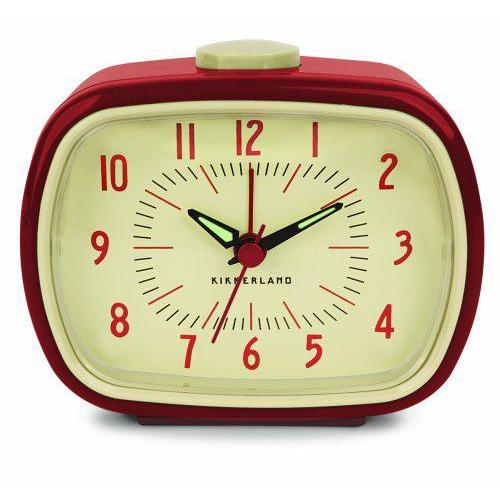 Alarm Clock Retro Red