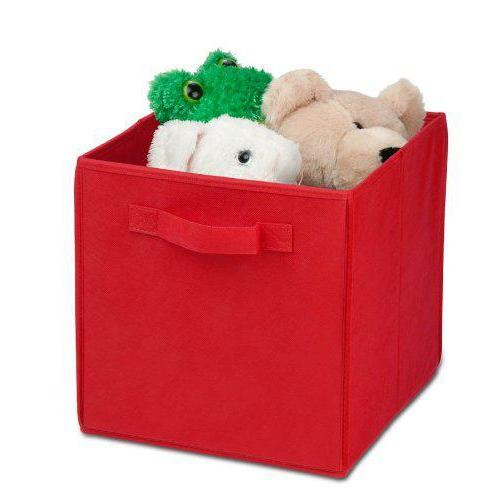 Storage - Large Foldable Storage Cube In Red
