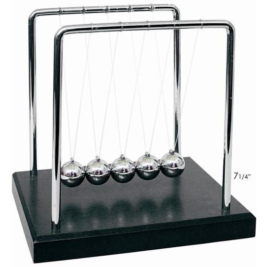 Newton\'s Cradle Black Base