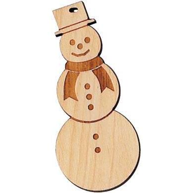 Ornament Snowman Made In Vermont