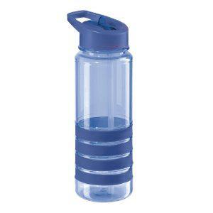 Travel Water Bottle Acrylic Sport Refresh With Spout Blue