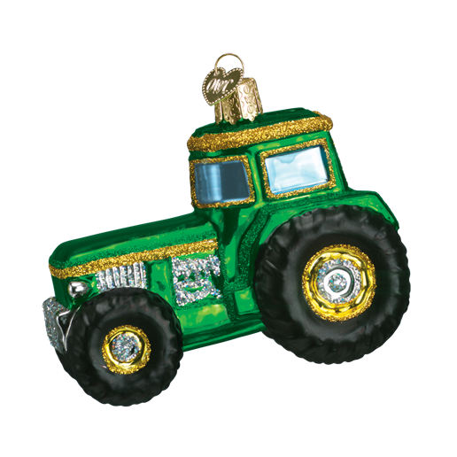 Christmas Ornament Tractor
