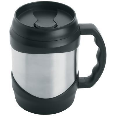 Travel Tumbler Mug-handled Stainless Steel 52oz
