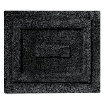 Bath Mat Spa Microfiber Black