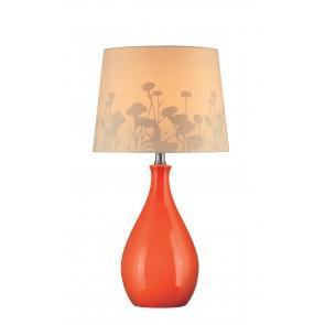 Edaline Table Lamp Orange