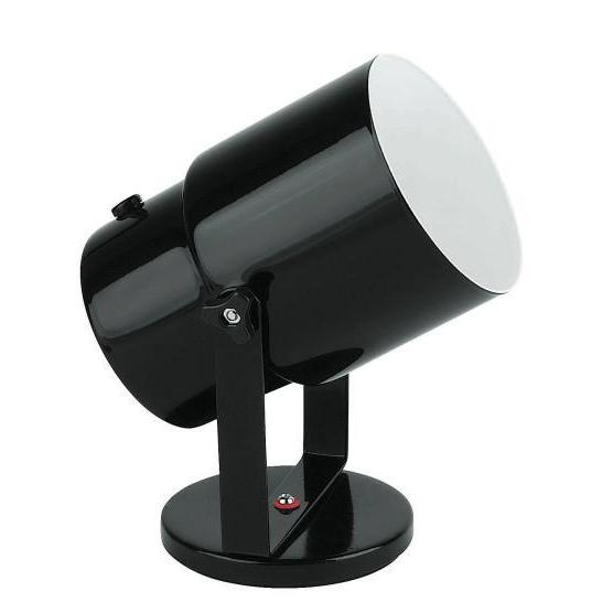 Wall Lamp Pin Up Spotlight - Black