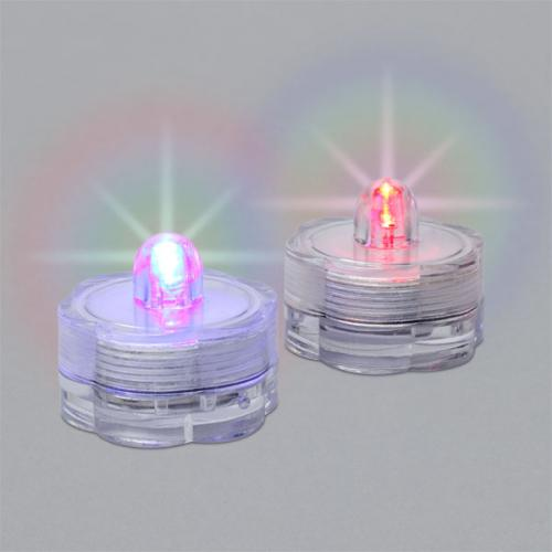 Water Lights 2pk With Super Bright Led Color Changing