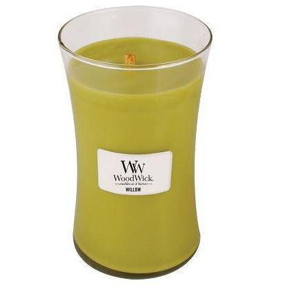 Woodwick Large Candle Jar Willow 22oz 130 Hour Burn Time
