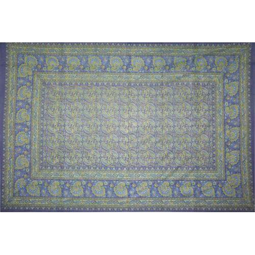 Tapestry Single Size Classic Paisley Blue