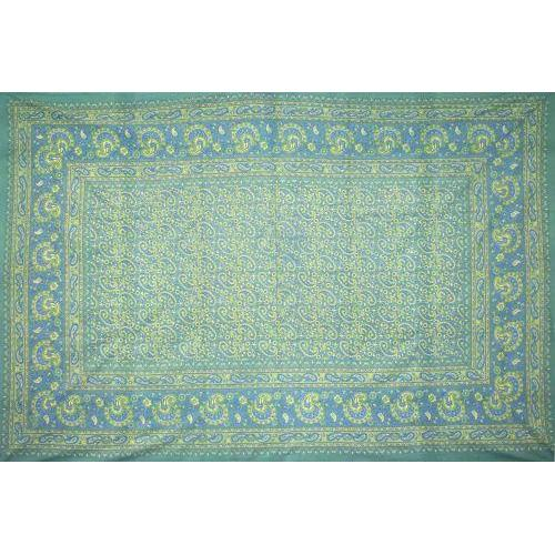 Tapestry Single Size Classic Paisley Green