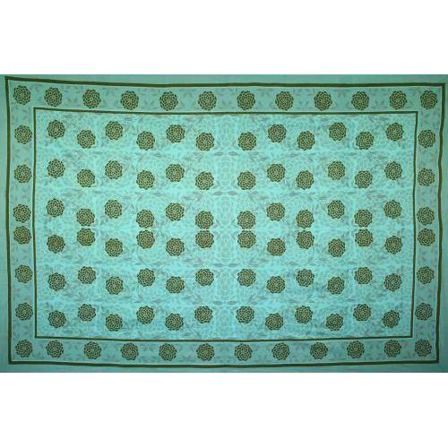 Tapestry Queen Size Lazy Dazy Green