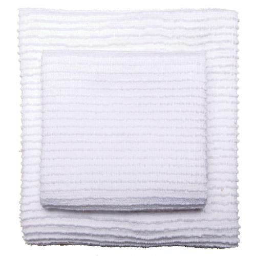 Dishtowel Ripple White