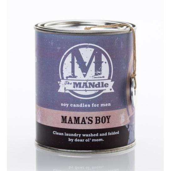 The Mandle Mama\'s Boy Candle