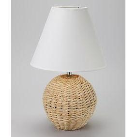 Lamp Seagrass Ball 3 Asst.