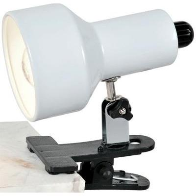 Desk Lamp Clip On I I In White